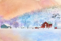 The Red Barn by Betty LaRue