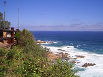 Seascape at Knysna Heads in South Africa von A  P