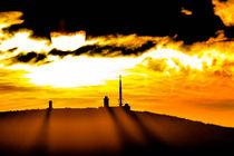 Sonnenuntergang auf dem Brocken  by Steffen Wenske