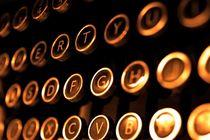 Typewriter 1 von Steve Ball