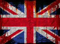 UK Flag 5 von Steve Ball
