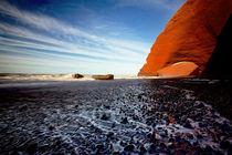 Legzira Beach, Morocco by Michael Truelove