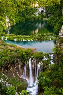 Wasserwelt Plitvice von Andreas Wonisch