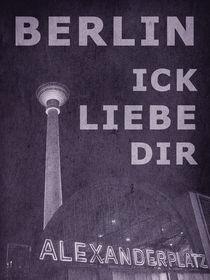 BERLIN LIEBE - violett by crazyneopop