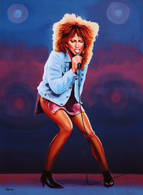 Tina Turner Queen of Rock by Paul Meijering