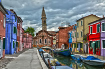canale burano by Peter Bergmann