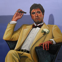 Al Pacino in Scarface by Paul Meijering