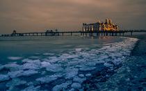 Selliner Seebrücke im Winter by Markus Horn