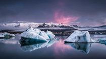 Die Gletscherlagune by Andreas Wonisch