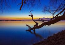 Elbe bei Sonnenuntergang by Dennis Stracke