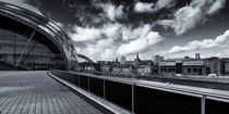Sage Gateshead and Newcastle Skyline by David Pringle