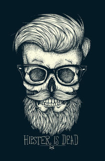Hipster is Dead by Mike Koubou