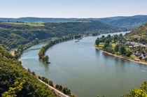 Rheinsteig - Aussicht Osterspai von Erhard Hess