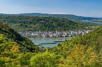 Rheinsteig - Aussichtspunkt Dinkholdertal von Erhard Hess