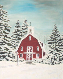 Red Barn by Brandy House