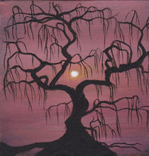 Weeping Tree Silhouette by Brandy House