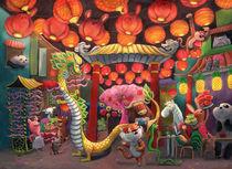 ChinaTown Animals von Monika Suska