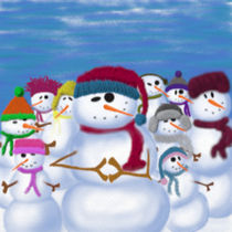 The Snowman And His Posse by Michelle Brenmark