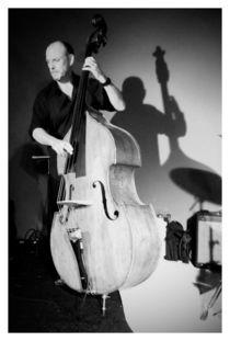 The shadow of the double bass player von Thomas Ferraz Nagl