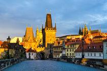 Prague in Morning Light by Michael Abid