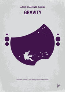 No269 My Gravity minimal movie poster von chungkong