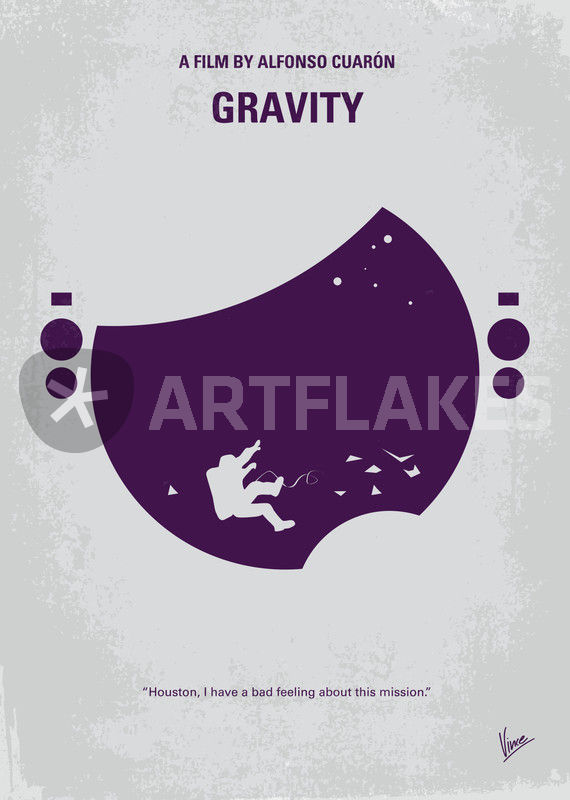 No269 My Gravity Minimal Movie Poster Graphic Illustration