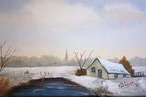 Schnee Neige Sneeuw Winter Hiver von Marie-Ange Lysens