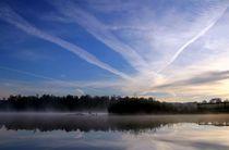 Himmel über dem See von Bruno Schmidiger