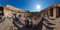 Italien, Rom: Kolosseum von Ernst  Michalek