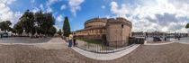 Italien, Rom: Castel Sant'Angelo (Engelsburg) von Ernst  Michalek