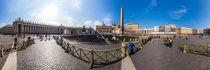 Italien, Rom: Piazza San Pietro (Petersplatz) von Ernst  Michalek