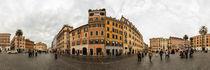 Italien, Rom: Piazza di Spagna von Ernst  Michalek