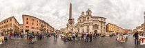 Italien, Rom: Piazza Navona von Ernst  Michalek