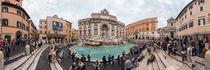 Italien, Rom: Trevi-Brunnen von Ernst  Michalek