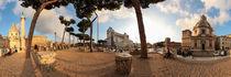 Italien, Rom: Vittoriano & Trajansforum von Ernst  Michalek