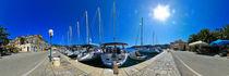Kroatien, Vis: Stadthafen von Ernst  Michalek