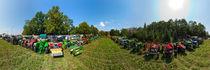 Oldtimer-Traktortreffen: Parkplatz von Ernst  Michalek