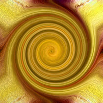 Golden Swirl von Robert Gipson