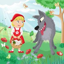 Märchen Rotkäppchen von Michaela Heimlich