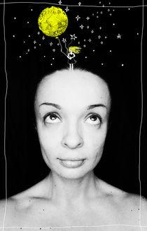 Self portrait von Maria Buzueva
