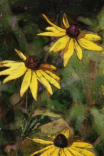Floral 030114 by David Lane