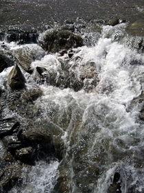 Gebirgsbach in Tirol von Joachim P. Pudrel
