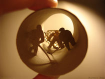 "Roll ""Ice hockey"" (Hockey sur glace) by Anastassia Elias"