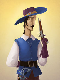 Musketeer by nechoart
