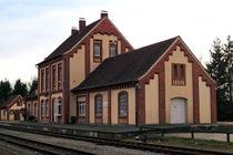Alter Bahnhof Erwitte I von Joachim P. Pudrel