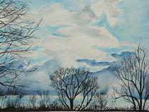 Wolken von Isabell Tausche