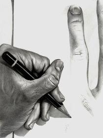 Drawing My Hands (Echoes) von Hagop Der Hagopian