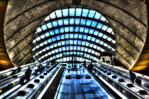 Canary Wharf Station von David Pyatt