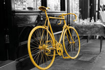 Yellow Bike by tfotodesign