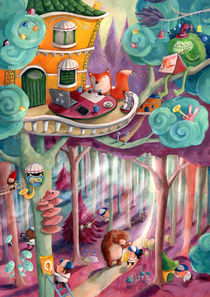 Magical Forest by Monika Suska